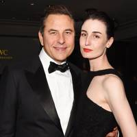 David Walliams and Erin O'Connor