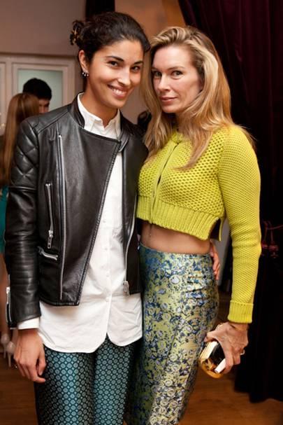 Caroline Issa and Pippa Vosper