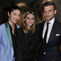 Caroline Issa, Olivia Palermo and Johannes Huebl