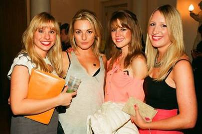 Sophie Platts, Elly Summers, Camilla Stewart and Phoebe Wright