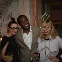 Cecily Mullins, Ronald Ndoro and Nicola Robinson