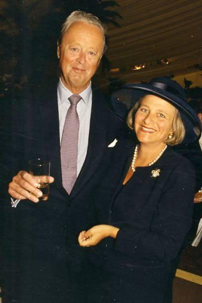 The Duke of Marlborough and Vivien Duffield