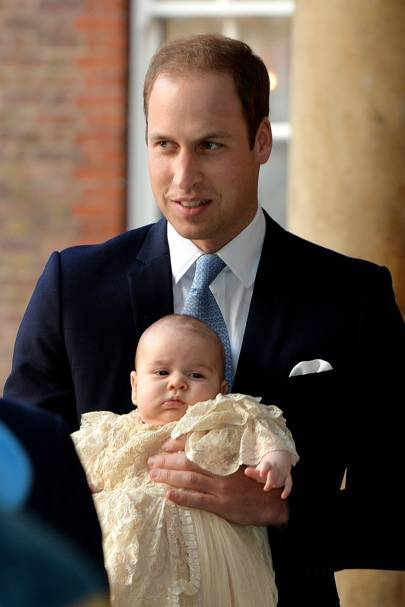 The Duke of Cambridge and Prince George