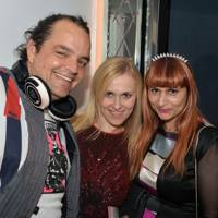 DJ Jeffrey, Courtney Blackman and Rebekah Roy