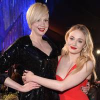Gwendoline Christie and Sophie Turner