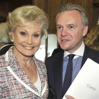 Angela Rippon and James Turner