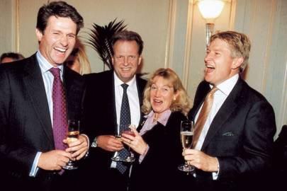 Martin Harris, Mark Johnson, Mrs Mark Johnson and Neil Brooks