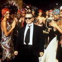 Karl Lagerfeld in 1992