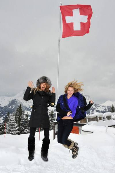 Anuschka Senge and Serena Merriman