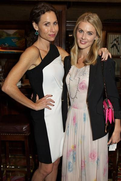 Minnie Driver and Donna Air