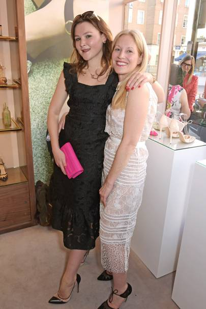 Amber Atherton and Jennifer Portman