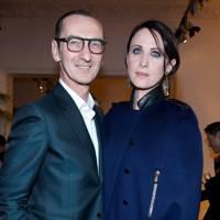 Bruno Frisoni and Alessandra Facchinetti