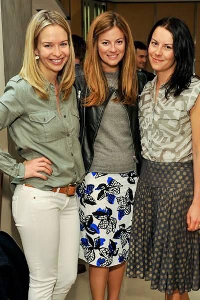 Marissa Hermer, Serena Nikkhah and Juliet Angus