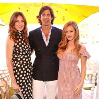 Michelle Monaghan, Nacho Figueras and Isla Fisher