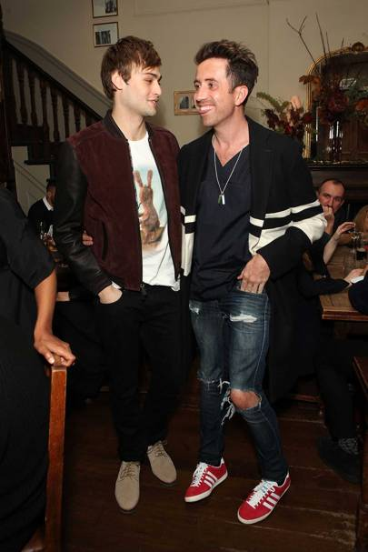 Douglas Booth and Nick Grimshaw