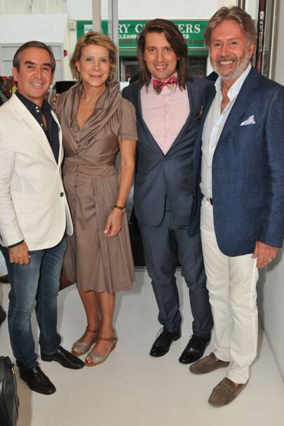 Claudio Alba, Cinthia Moraes, Samir Ceric and Mario Silva