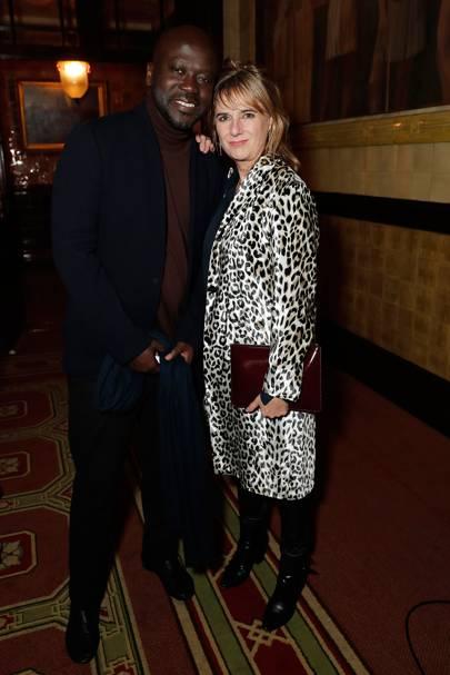 Sir David Adjaye and Amanda Levete