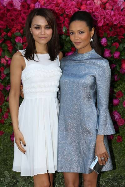 Samantha Barks and Thandie Newton