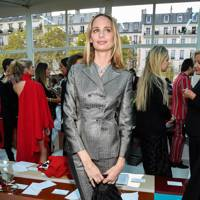 Lauren Santo Domingo at the Valentino show.