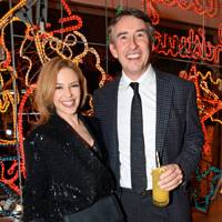 Kylie Minogue and Steve Coogan