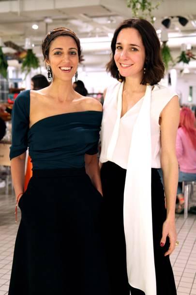 Yasmin Sewell and Serafina Sama