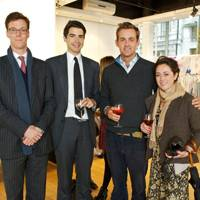 Oliver Jenkinson, John Finlay, Lord Ted Innes Ker and Susannah Prins