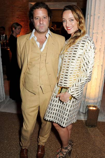 Lars Von Bennigsen and Alice Temperley