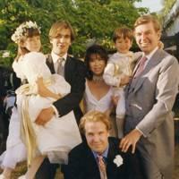 Alissa Davies, Taran Davies, Alexander Fitzgibbons, Mrs David Davies, Aidan Davies and David Davies