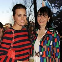 Yasmin Le Bon and Georgia Coleridge