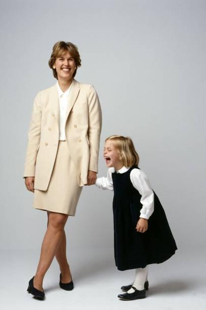 Verena Molson dresses Camilla (five)