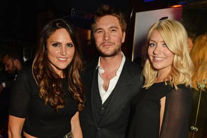 Elle Caring, Ben Caring and Holly Willoughby