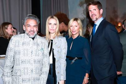 Carlos Mota, Vanessa Traina, Crown Princess Marie-Chantal of Greece and Crown Prince Pavlos of Greece