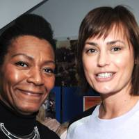 Angela Drisdale-Gordon and Yasmin Le Bon