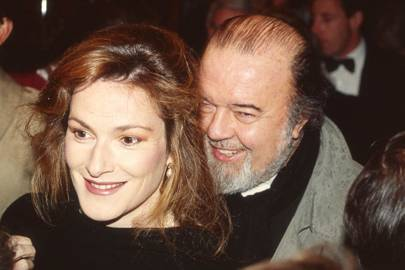 Lady Hall and Sir Peter Hall