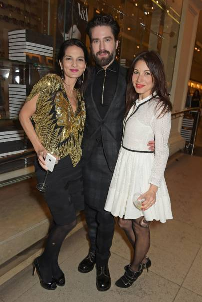 Yasmin Mills, Jack Guinness and Lauren Kemp