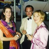Mrs John Mickelthwait, Prince Stefan Metternich and Georgia Channon