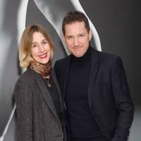 Sally Scott and Bertie Carvel