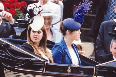 Princess Beatrice of York and Princess Eugenie of York