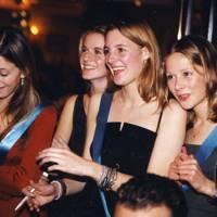 Sophie Akroyd, Chloe Delevingne, Lucinda Chambers and Fiona Innes