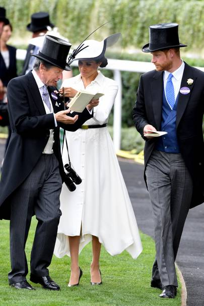 John Warren, the Duchess of Sussex and the Duke of Sussex