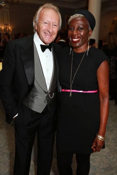 Harold Tillman and Baroness Lola Young