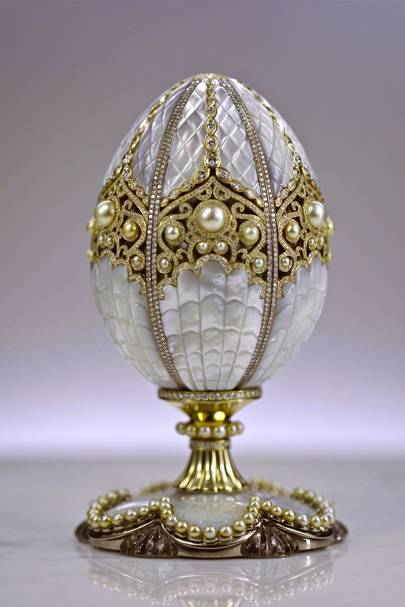 The Pearl Egg, House of Fabergé, 2015
