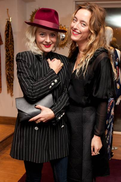 Victoria Grant and Alice Temperley