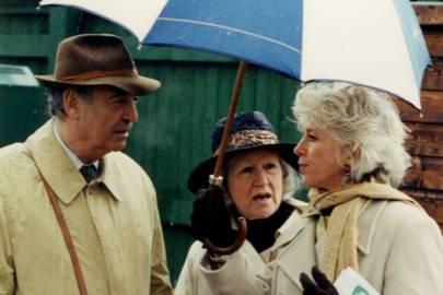 Sir Piers Bengough, Lady Bengough and Madame Francois Doumen