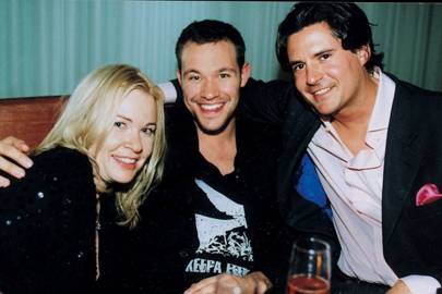 Karen Mercury, Will Young and Edward Taylor