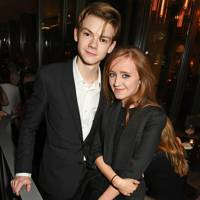 Thomas Brodie-Sangster and Isabella Melling