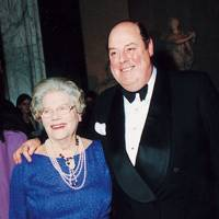 Lady Soames and the Hon Nicholas Soames