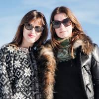 Jeanne Damas and Joana Preiss