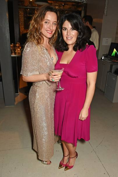 Alice Temperley and Monica Lewinsky