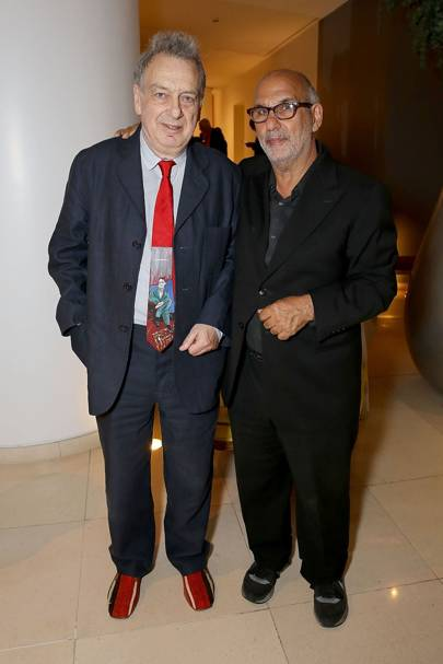 Stephen Frears and Alan Yentob